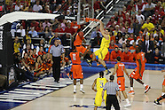 NCAA MBKB Final Four: No. 16/18 Syracuse Orange vs. No. 10/11 Michigan Wolverines