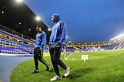 Brighton & Hove Albion central defender Connor Goldson (18) walking on the pitch before the EFL Sky Bet Championship match between Birmingham City and Brighton and Hove Albion at St Andrews, Birmingham, England on 17 December 2016.