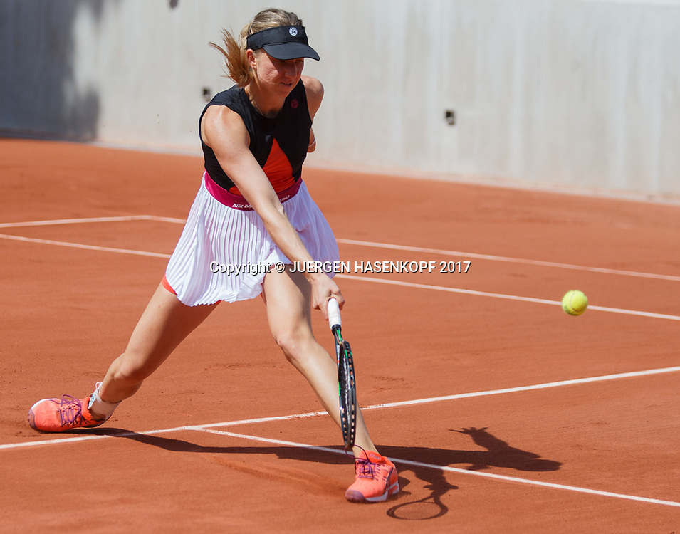 MONA BARTHEL (GER)<br /> <br /> Tennis - French Open 2017 - Grand Slam ATP / WTA -  Roland Garros - Paris -  - France  - 30 May 2017.