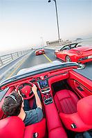 Audi R8, Ferrari California, Maserati