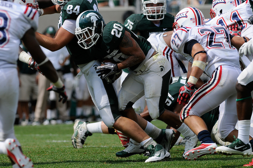 2011 Michigan State Football vs Florida Atlantic