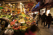 Istanbul. Vegetable seller.