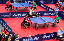 Bojan Lukezic, Primoz Kancler of Slovenia at 15th Slovenia Open - Thermana Lasko 2018 Table Tennis for the Disabled, on May 9, 2018, in Dvorana Tri Lilije, Lasko, Slovenia. Photo by Vid Ponikvar / Sportida