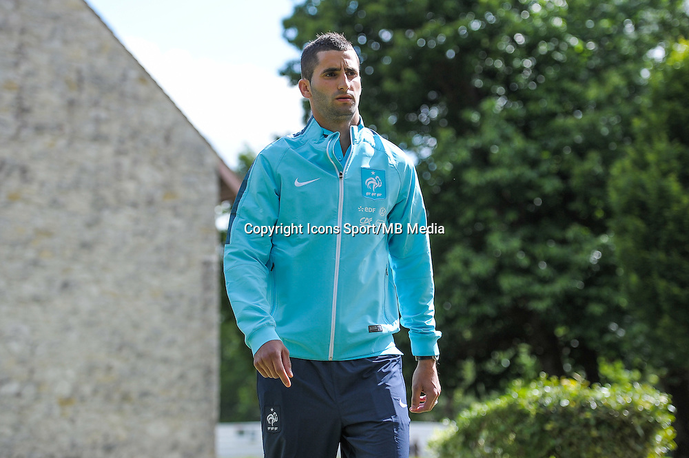 Maxime Gonalons - 01.06.2015 - Entrainement - Equipe de France - Clairefontaine<br />