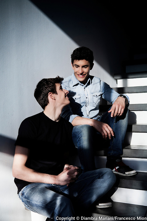 Alex and Marc Marquez.<br />