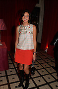Francesca Amfiterof, ( ?) 'Love Actually after premiere party. the Old In and Out club, Piccadilly, 16 November 2003. © Copyright Photograph by Dafydd Jones 66 Stockwell Park Rd. London SW9 0DA Tel 020 7733 0108 www.dafjones.com