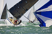 "IRC Class 6 ""tiger Developments"" looking somewhat unstable...Day 2 Skandia Cowes Week 2006"