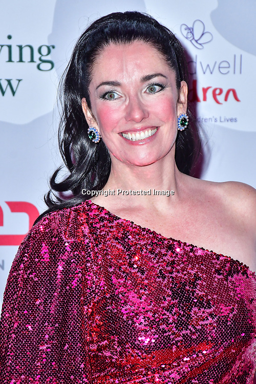 Victoria Christian arrive at Float Like A Butterfly Ball for Caudwell Children Charity at Grosvenor House Hotel on 16 November 2019, London, UK.