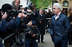 © London News Pictures. 02/05/2013. London, UK.  Celebrity publicist MAX CLIFFORD arriving at Southwark Crown Court in London where he is due to be sentenced after being found  guilty of eight counts of sexual assault at a previous hearing. Photo credit: Ben Cawthra/LNP