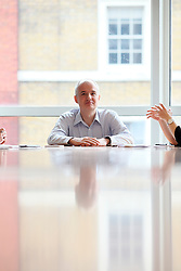 UK ENGLAND LONDON 20MAY16 - CEO of the MAN Group, Emmanuel Roman of France during an interview at the company's Mayfair offices in London.<br /> <br /> jre/Photo by Jiri Rezac<br /> <br /> © Jiri Rezac 2016