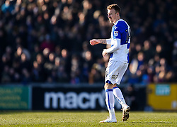 Chris Lines of Bristol Rovers looks on - Rogan/JMP - 24/02/2018 - FOOTBALL - Memorial Stadium - Bristol, England - Bristol Rovers v Scunthorpe United - EFL Sky Bet League One.