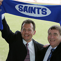 St Johnstone FC Sponsorship deal with George Wimpey plc.<br />