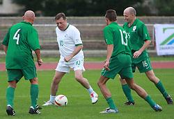 Mayor of Ljubljana Zoran Jankovic at friendly football game between famous Slovenians at day of Fair play, on September 21, 2008 in Kodeljevo, Ljubljana, Slovenia. (Photo by Vid Ponikvar / Sportal Images)