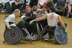 Germany V Denmark at the 2016 IWRF Rio Qualifiers, Paris, France