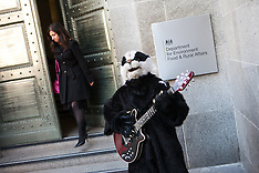 MAY 01 2013 DEFRA - Badger Protest