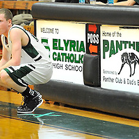 1.15.2013 Oberlin at Elyria Catholic Boys Varsity Basketball