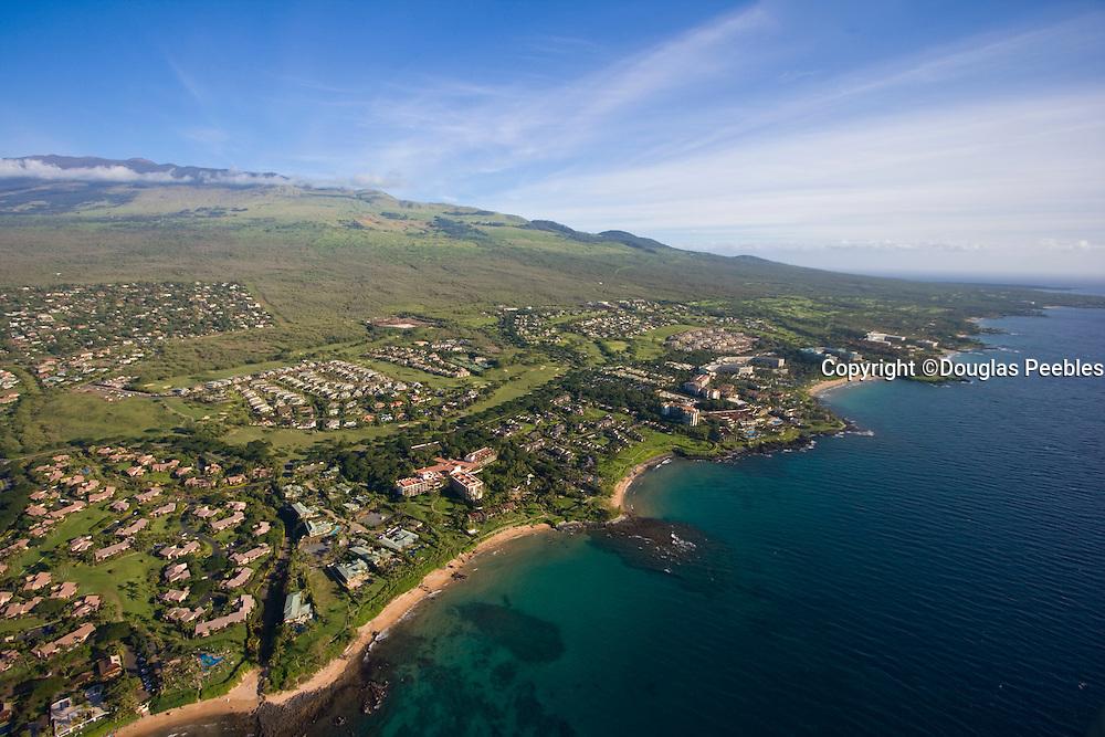 Aerial, Wailea Resort, Maui Hawaii