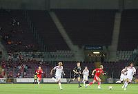 Fussball International Laenderspiel Schweiz 2-0 Costa Rica Wenig Zuschauer im Stade de Geneve