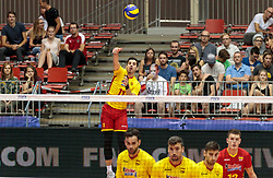 09.06.2017, TipsArena, Linz, AUT, FIVB, World League, Mexiko vs Spanien, Division III, Gruppe C, Herren, im Bild Miguel Angel De Amo (ESP) // Miguel Angel De Amo (ESP) during the men's FIVB, Volleyball World League, Division III, Group C match between Mexico and Spain at the TipsArena in Linz, Austria on 2017/06/09. EXPA Pictures © 2017, PhotoCredit: EXPA/ JFK