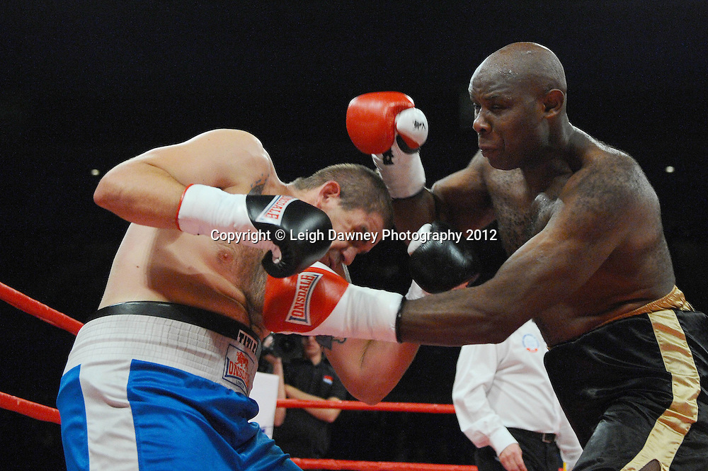 Matt Skelton  defeats Jakov Gospic in a Heavyweight contest at the Echo Arena, Liverpool on 13th October 2012. Frank Maloney Promotions © Leigh Dawney Photography 2012.