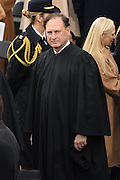 Supreme Court Justice Samuel Alito arrives for the 68th President Inaugural Ceremony on Capitol Hill January 20, 2017 in Washington, DC.