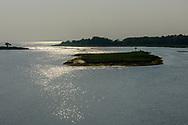 Colonels Island, Riverhead,  Peconic River and Flanders Bay, Riverhead, Flanders,  Long Island, New York