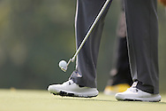 Tiger Woods with nike balls on the green and putter<br /> at The PGA Championship 2013, Oak Hill Country Club, Rochester, New York, USA  <br /> Picture Credit:  Mark Newcombe / visionsingolf.com