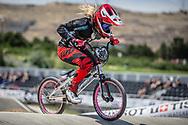 Women Elite #308 (PETCH Rebecca) NZL at the 2018 UCI BMX World Championships in Baku, Azerbaijan.