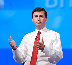 Douglas Alexander MP.shadow Home Secretary speech to the Labour Party Conference in Manchester, Monday October 1 2012, Photo by Elliott Franks / i-Images