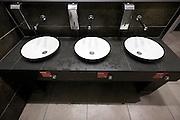 modern designed public washroom facility