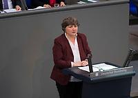 DEU, Deutschland, Germany, Berlin, 02.02.2018: Dr. Kirsten Tackmann (Die Linke) bei einer Rede im Deutschen Bundestag.