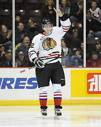 Nino Niederreiter of the Portland Winterhawksin the Home Hardware CHL Top Prospects Skills Competition in Windsor, ON on Tuesday. Photo by Aaron Bell/OHL Images.
