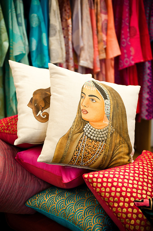 Jaipur is particularly famous for the block-print craft, and there are many famous brands that are based in the city. For discerning shoppers the best.boutique to visit for contemporary block-printed textiles is Rasa. Husband and.wife team, Madhulika and Manish (Tibbs) Tibrewal recently opened this.showroom to retail their home and fashion collections for both men and.women. They also have exquisite hand painting and intricate embroidery.featured in their collection..S-55 Ashok Marg, C Scheme.+91 141 403 8584, +91 98290 64223