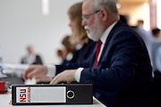 Wiesbaden | 11 May 2015<br /> <br /> NSU Untersuchungsausschuss Hessischer Landtag, 20. Sitzungstag, hier: Akten mit dem Aufdruck &quot;NSU&quot; auf den Pl&auml;tzen der Abgeordneten der Linkspartei.<br /> <br /> &copy;peter-juelich.com<br /> <br /> [Foto honorarpflichtig | Fees Apply | No Model Release | No Property Release]