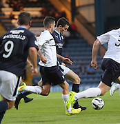 Paul McGinn about to score Dundee's second - Dundee v Raith Rovers, Scottish League Cup at Dens Park<br /> <br />  - &copy; David Young - www.davidyoungphoto.co.uk - email: davidyoungphoto@gmail.com