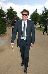 BRYAN FERRY at the 3rd day of the Glorious Goodrwood Racing festival 2006 - Ladies Day, at Goodwood Race course, West Sussex on 3rd August 2006.<br /><br />NON EXCLUSIVE - WORLD RIGHTS