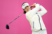 In Gee Chun (Kor) competes during the final round of LPGA Evian Championship 2018, Day 7, at Evian Resort Golf Club, in Evian-Les-Bains, France, on September 16, 2018, Photo Philippe Millereau / KMSP / ProSportsImages / DPPI