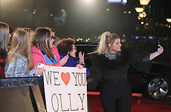 The Voice UK coach Meghan Trainor arrives for the blind auditions in Salford, Manchester.
