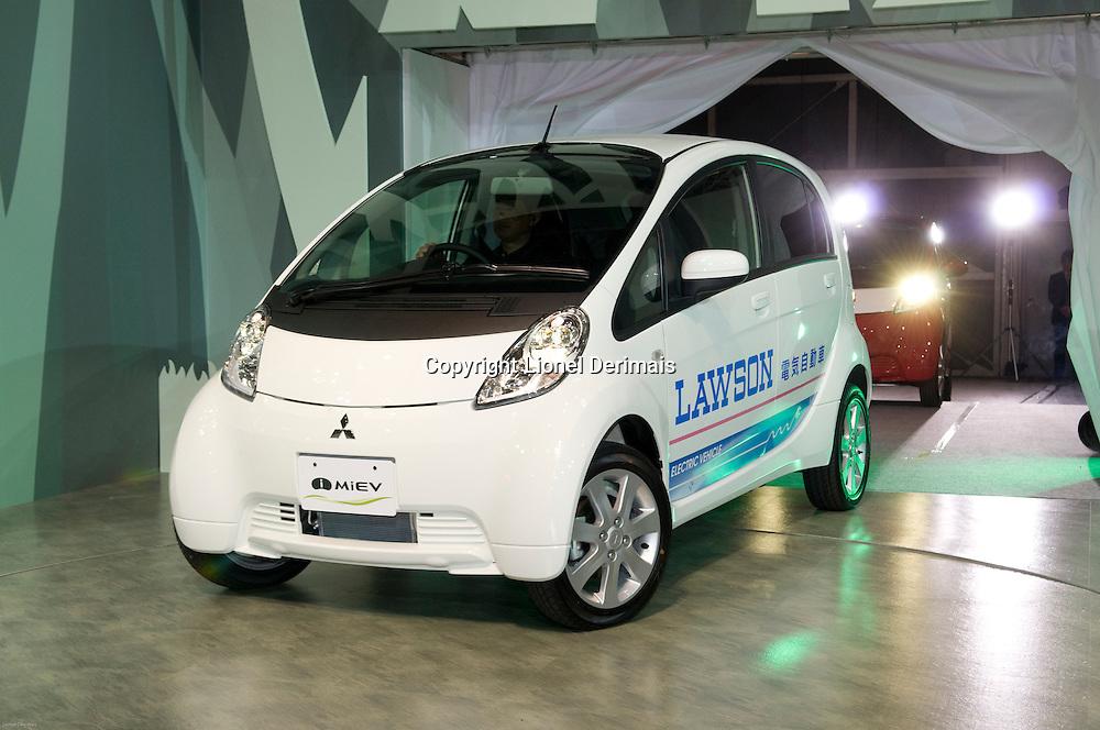 Mitsubishi MIEV electric car at the October 2009 Tokyo motorshow.