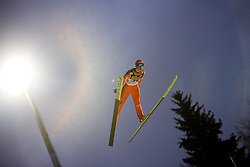 Andreas Wank (GER) competes during First round of the FIS Ski Jumping World Cup event of the 58th Four Hills ski jumping tournament, on January 6, 2010 in Bischofshofen, Austria. (Photo by Vid Ponikvar / Sportida)