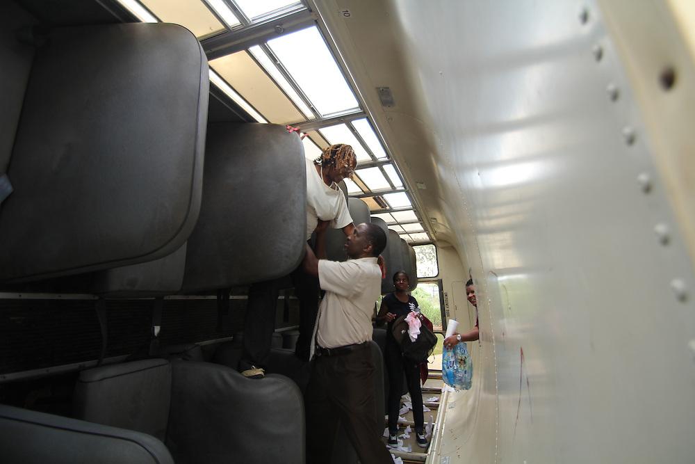 HISD School Bus Training on August 08, 2012.
