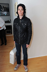 SUE WEBSTER at a pre lunch reception to celebrate the launch of the new Louisa Guinness gallery at Ben Brown Fine Art, Cork Street, London on 18th November 2009.