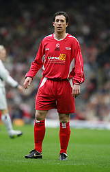 LIVERPOOL, ENGLAND - SUNDAY MARCH 27th 2005: Liverpool Legends' Robbie Fowler in action during the Tsunami Soccer Aid match at Anfield. (Pic by David Rawcliffe/Propaganda)