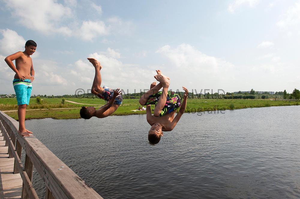 Salto van brug Ruigenhoekse polder