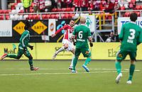 FotballFørstedivisjonTromsø IL vs HamKam27.04.2014Jonas Johansen, TromsøPekka Lagerblom, HamKamJon Anders Rise, HamKamAziz Idris, HamKam