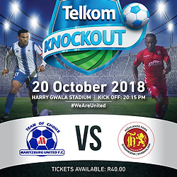 20,10,2018 Telkom Knockout round Maritzburg United and Highlands Park