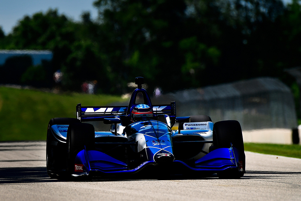 Takuma Sato, Rahal Letterman Lanigan Racing Honda<br /> Saturday 23 June 2018<br /> KOHLER Grand Prix at Road America<br /> Verizon IndyCar Series<br /> Road America WI USA<br /> World Copyright: Scott R LePage