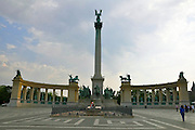 Eastern Europe, Hungary, Budapest, Heroes Square