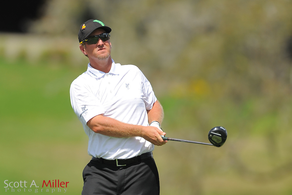 David Duval during the first round of the Arnold Palmer Invitational at the Bay Hill Club and Lodge on March 22, 2012 in Orlando, Fla. ..©2012 Scott A. Miller.