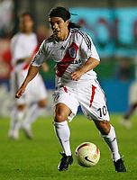Fotball<br /> Argentina<br /> Foto: Argenpress/Digitalsport<br /> NORWAY ONLY<br /> <br /> South American Cup ARSENAL SARANDI (0) Vs. RIVER PLATE (0) at Arsenal Stadium in Bs.AS. Argentina 08.11.07<br /> Here River Plate ARIEL ORTEGA